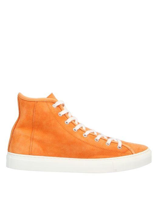 Diemme Orange High Sneakers & Tennisschuhe