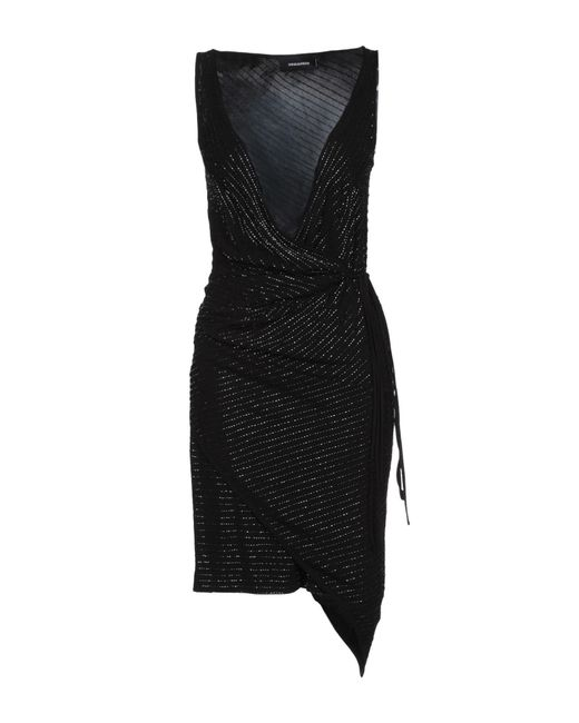 Vestido por la rodilla DSquared² de color Black
