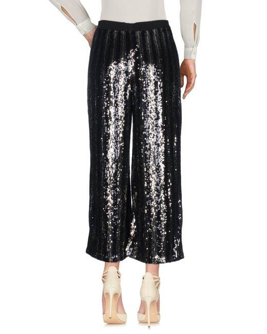 Jucca Pantalon femme de coloris noir po1es