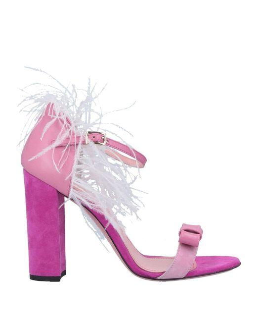 Sandales Tipe E Tacchi en coloris Pink