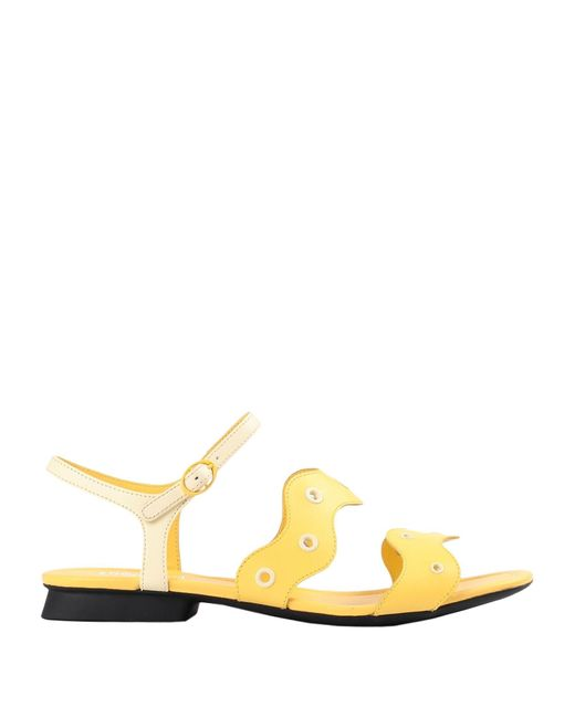 Camper Yellow Sandals