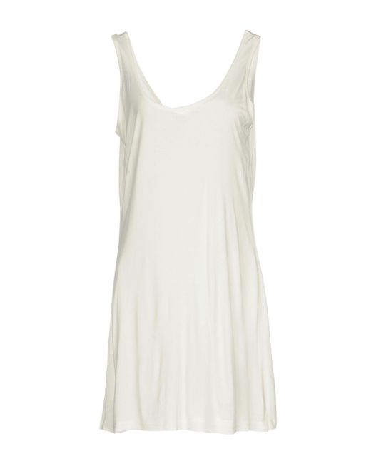 Silvian Heach - White Short Dress - Lyst