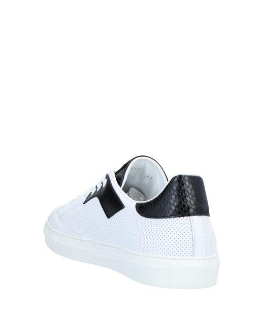 Roberto Cavalli Low Sneakers & Tennisschuhe in White für Herren