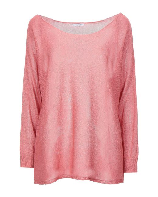 NUALY Pink Pullover