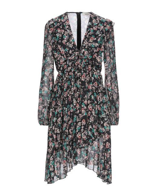 ViCOLO Black Knee-length Dress