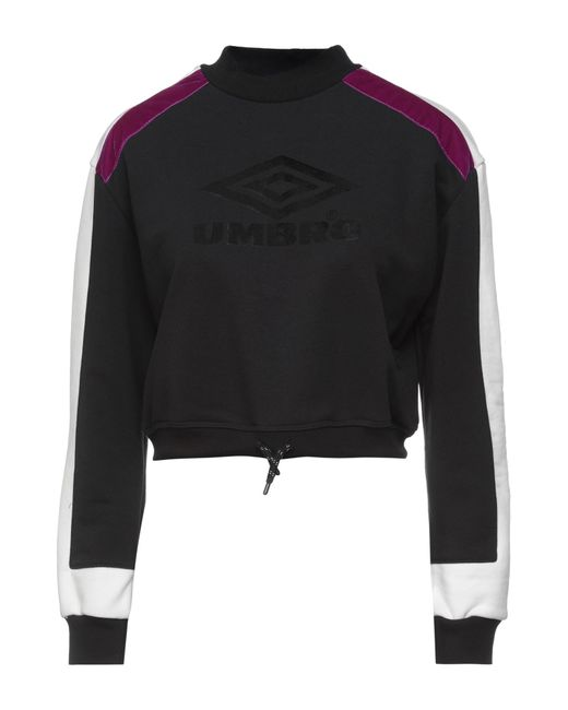 Sweat-shirt Umbro en coloris Black
