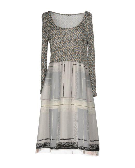 DRESSES - 3/4 length dresses Maliparmi z56P10iB0H