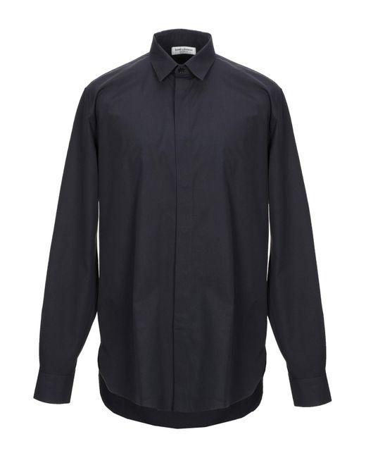 Camisa Saint Laurent de hombre de color Black