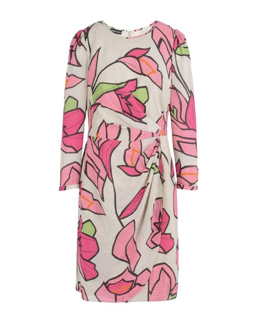 Emporio Armani Natural Short Dress