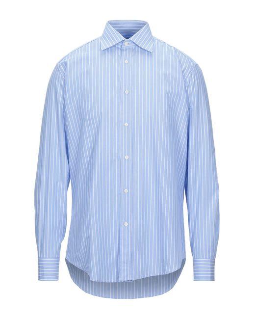 Camicia di Department 5 in Blue da Uomo