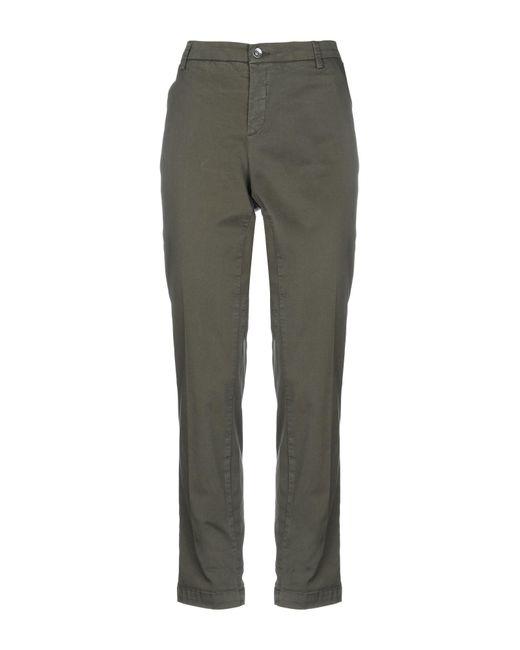 Liu Jo Green Casual Pants