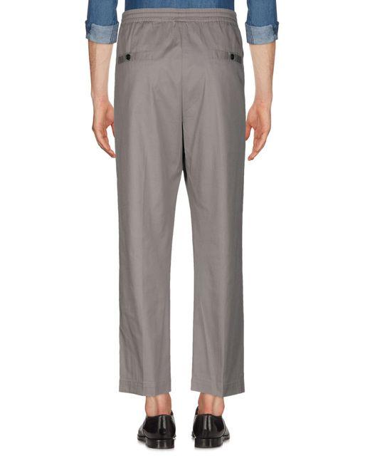 Pantalon Mauro Grifoni pour homme en coloris Gray
