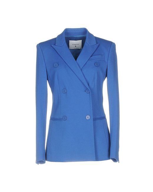 Dondup Blue Suit Jacket