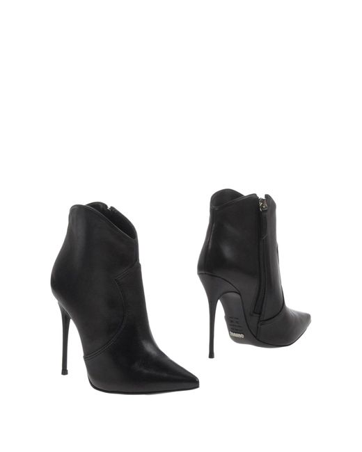 Schutz   Black Ankle Boots   Lyst