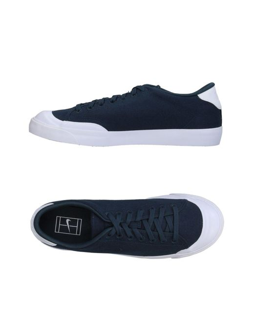 Nike - Blue Low-tops & Sneakers for Men - Lyst