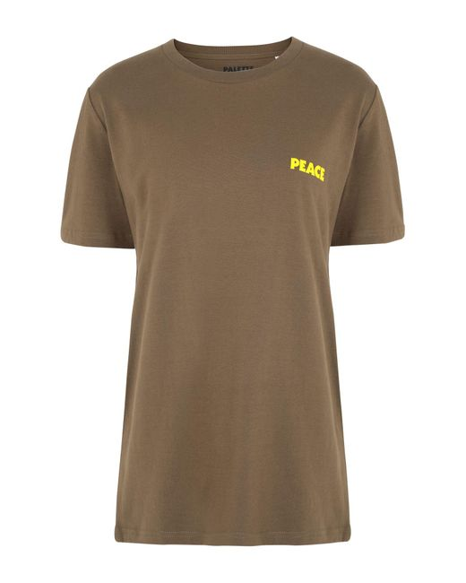 T-shirt di PALETTE COLORFUL GOODS in Green
