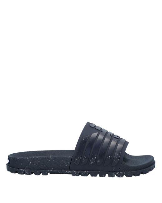 Emporio Armani Blue Sandals for men
