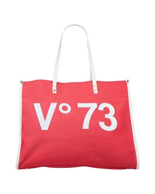 V73 Red Shoulder Bag