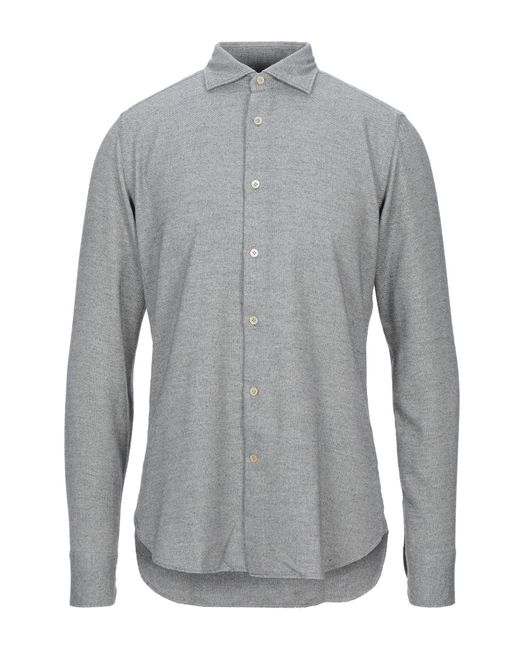Guglielminotti Gray Shirt for men