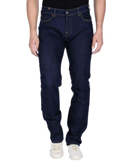 Notify | Blue Denim Trousers for Men | Lyst