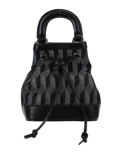 AU DEPART Black Cross-body Bag