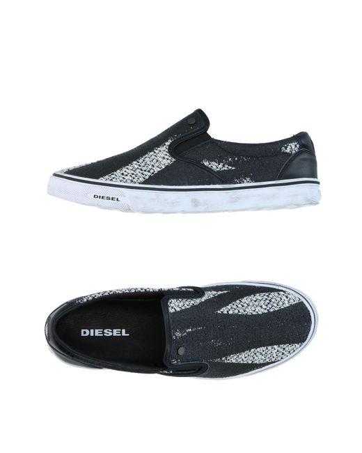 DIESEL | Black Low-tops & Sneakers for Men | Lyst