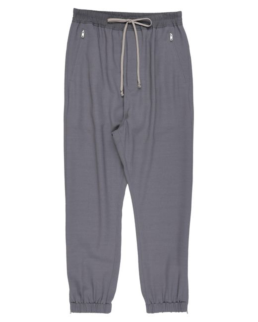 Pantalone di Rick Owens in Gray da Uomo