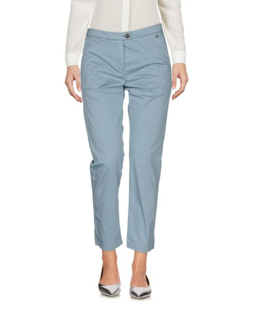 Woolrich Blue 3/4-length Trousers
