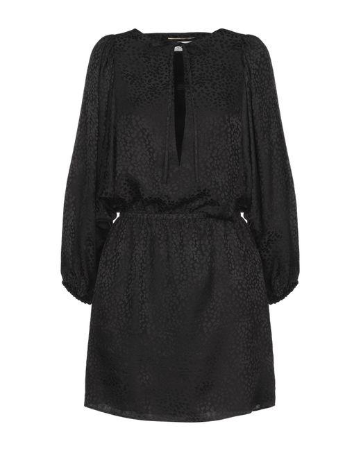 Vestito corto di Saint Laurent in Black