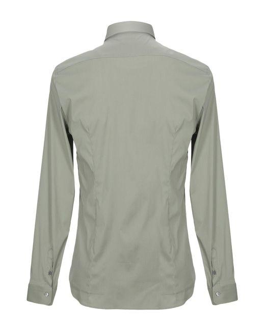 Camicia di Patrizia Pepe in Gray da Uomo