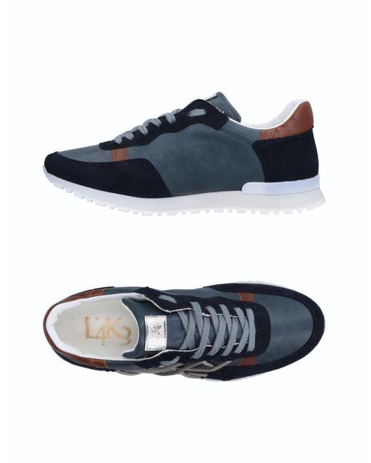 L4k3 Sneakers & Deportivas de hombre de color azul