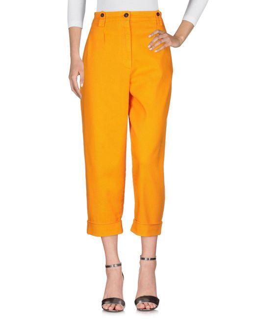 N°21 Orange Jeanshose