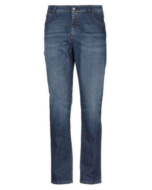 Pantaloni jeans di Alessandro Dell'acqua in Blue da Uomo