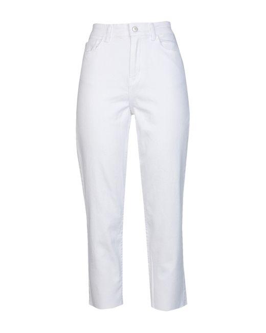 Pantalones vaqueros ONLY de color White