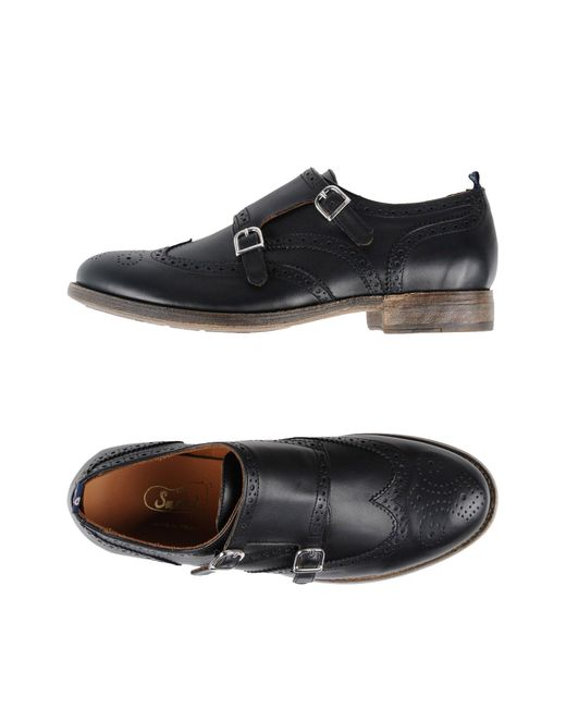 Snobs Mocasines de hombre de color negro