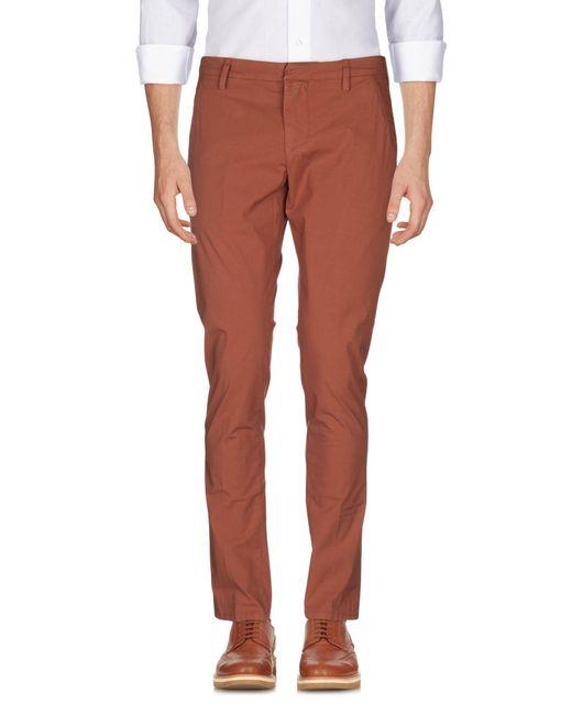 Pantalones Dondup de hombre de color Brown