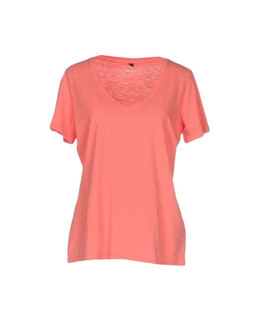 T-shirt di Armani Jeans in Pink