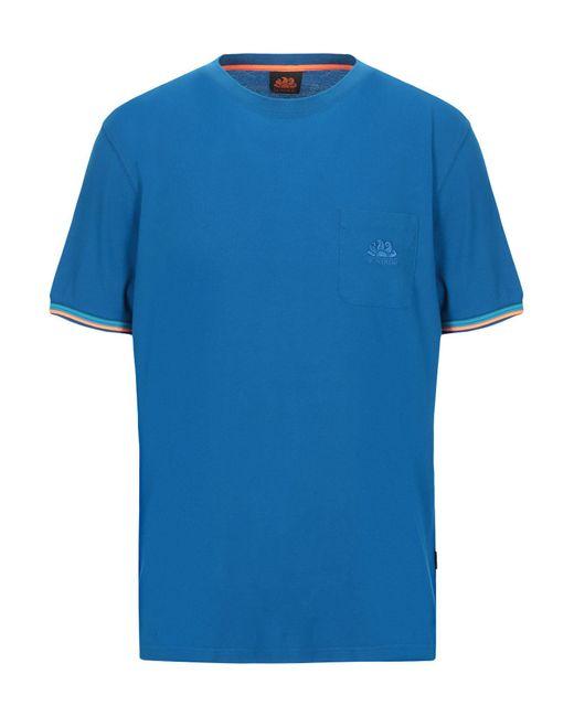 T-shirt di Sundek in Blue da Uomo