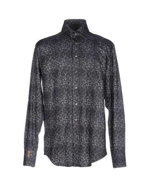 Billionaire - Gray Shirt for Men - Lyst