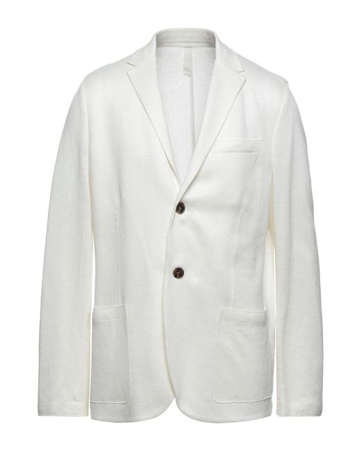 Veste Harris Wharf London pour homme en coloris White