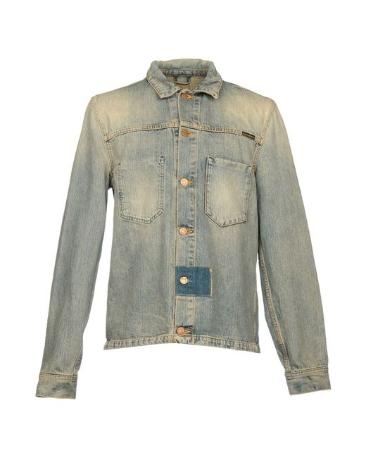Nudie Jeans - Blue Denim Outerwear for Men - Lyst