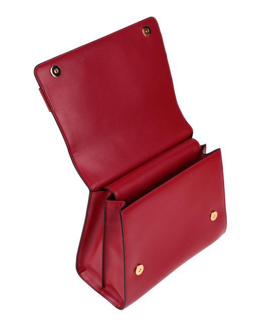 Sac à main Alberta Ferretti en coloris Red