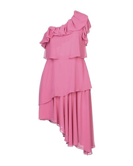 Robe aux genoux Anna Rachele en coloris Pink