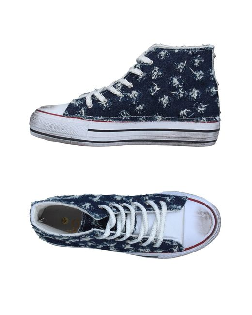 Ovye' By Cristina Lucchi - Blue High-tops & Sneakers - Lyst