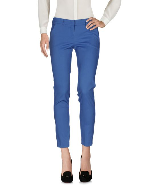 Hanita Blue Casual Pants