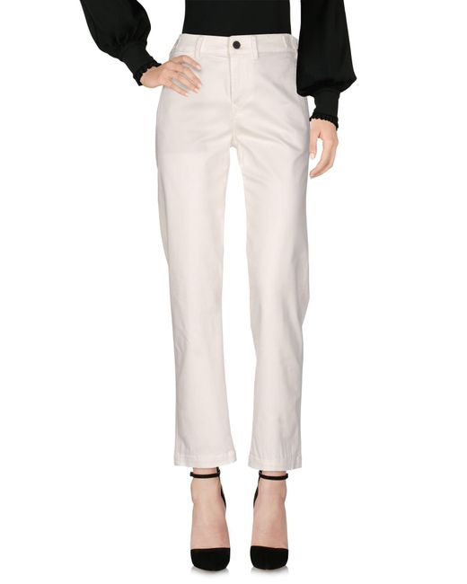 Genetic Denim - White Casual Trouser - Lyst