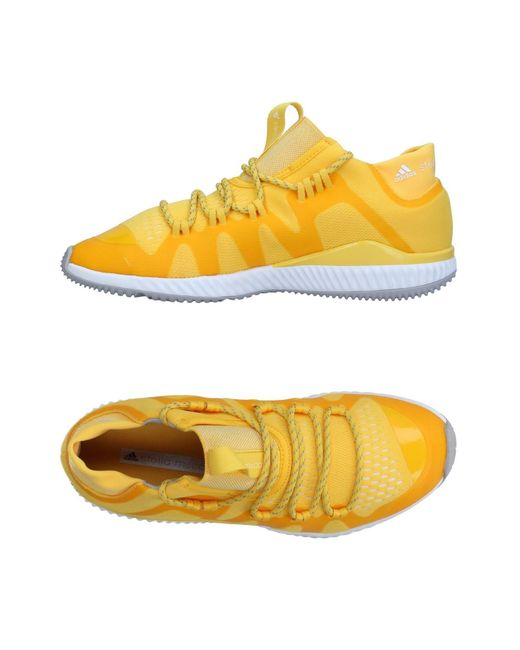 Adidas By Stella McCartney Yellow Low-tops & Sneakers