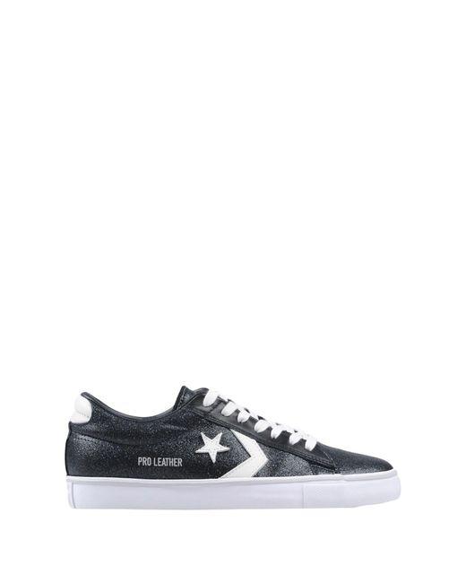 Converse Black Low Sneakers & Tennisschuhe
