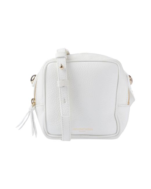 Sara Battaglia - White Cross-body Bag - Lyst