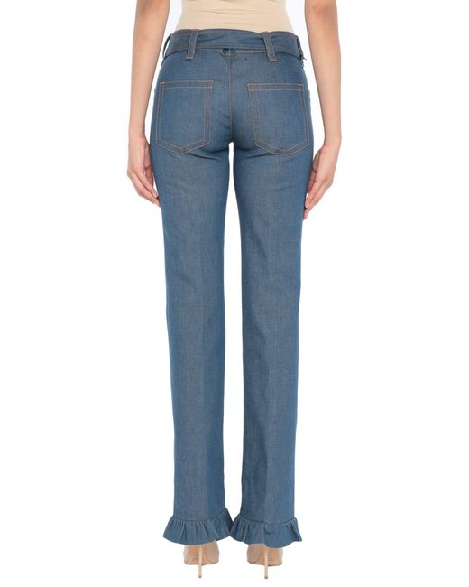 Pantalon en jean Prada en coloris Blue